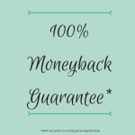 100percentMoneyback Guarantee