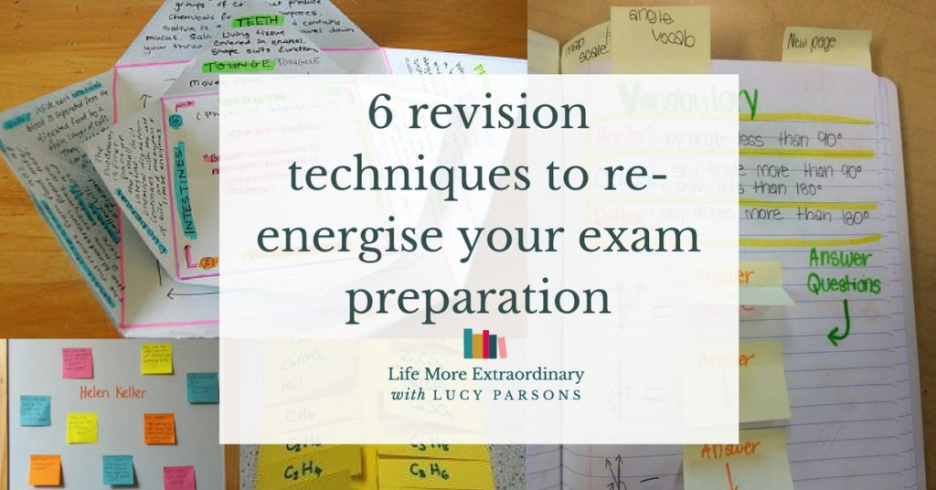 revision techniques writing