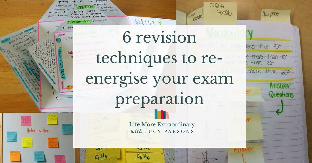 6 revision techniques to re