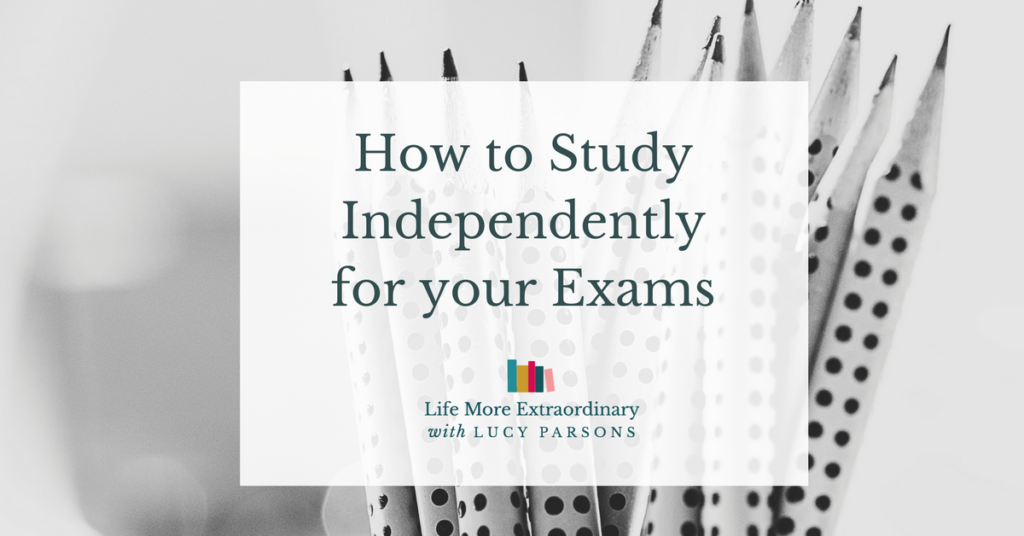 How to study independently for your exams
