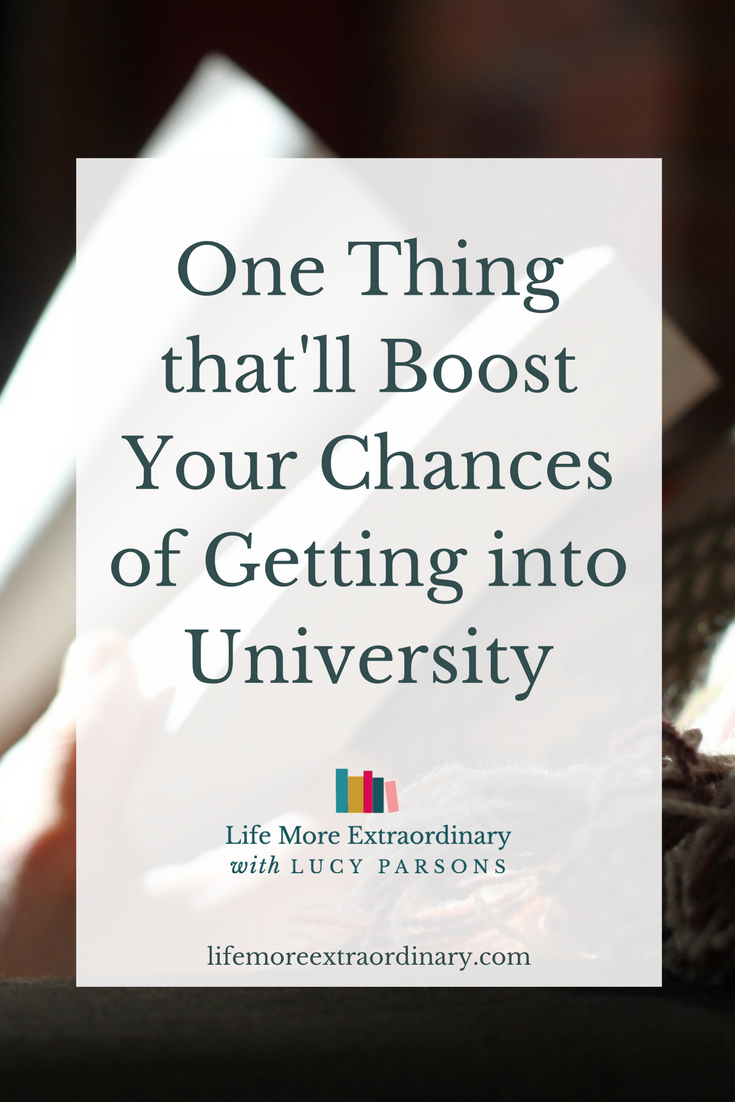 Do you want to go to university? Doing this one thing will majorly boost your chances of getting into university. What is it? Reading around your subject.