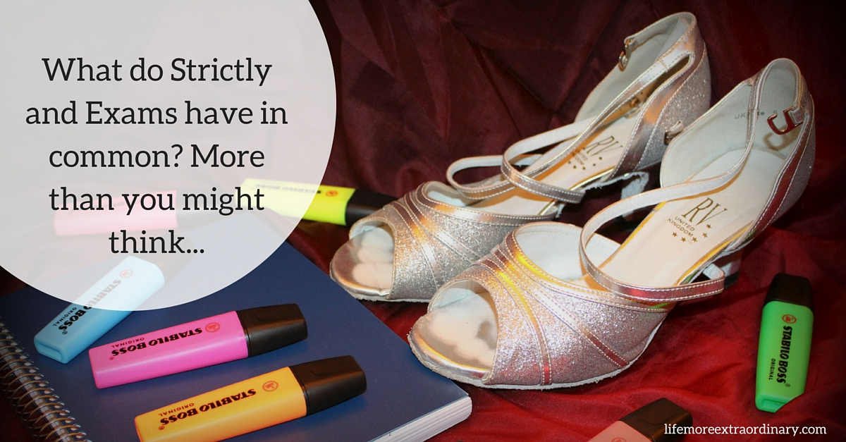 What do Strictly and Exams have in common? More than you might think...