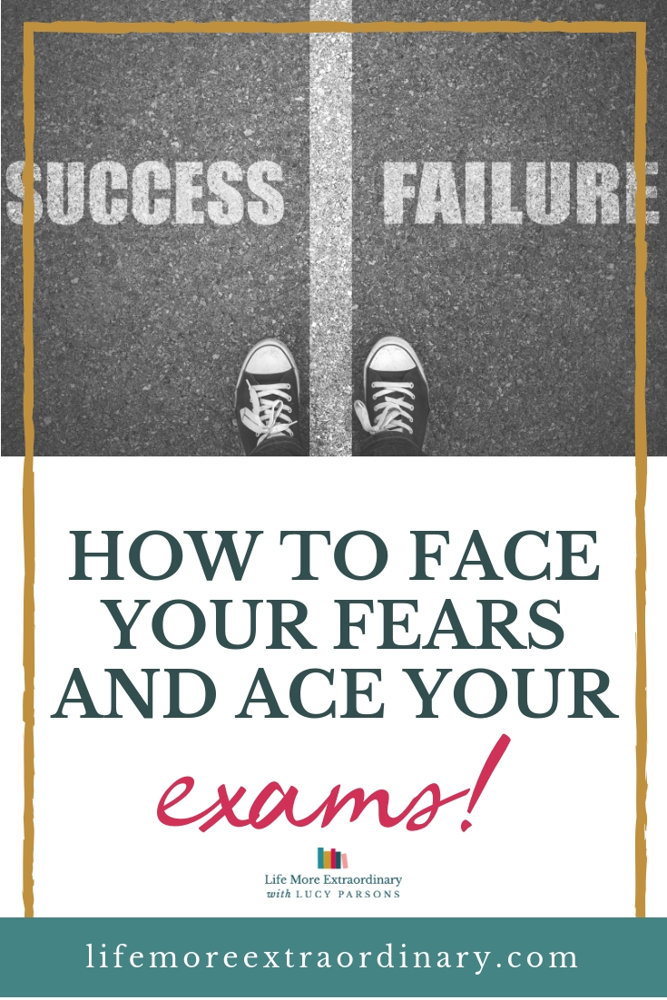 Learn how to overcome your fear of failing your exams so that you get the grades you need to get into your chosen university. Use my tried and tested methods to face those fears and ace your grades! #studyskills #motivation