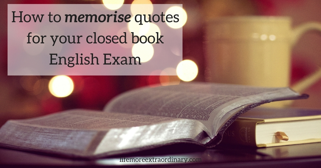 How to memorise quotes