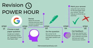 how to revise effectively for gcse and a levels power hour