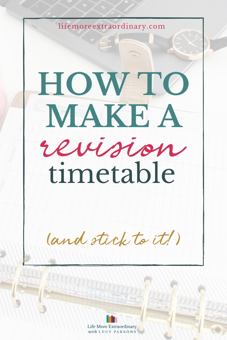 Making a revision timetable is essential, but how do you do it and, more importantly, how do you stick to it? Here's how... #revision #exams #ALevels #GCSEs #students