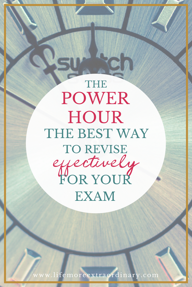 Beat exam stress with one of the best revision techniques you'll ever learn: The Revision Power Hour! The revision tips and organisation in this video will help you revise effectively for your GCSE and A Level exams to get the grades you need.