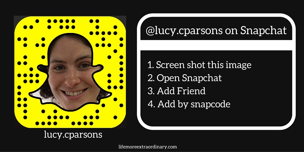 Lucy Parsons snapcode lucy.cparsons