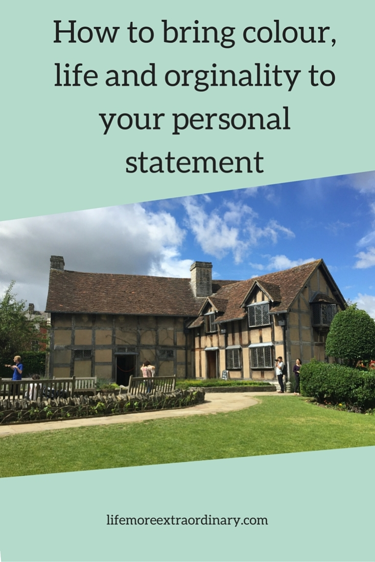 When an admissions tutor reads your personal statement you want them to sit up and take notice. You can do this by writing about your real-life experiences and insights.