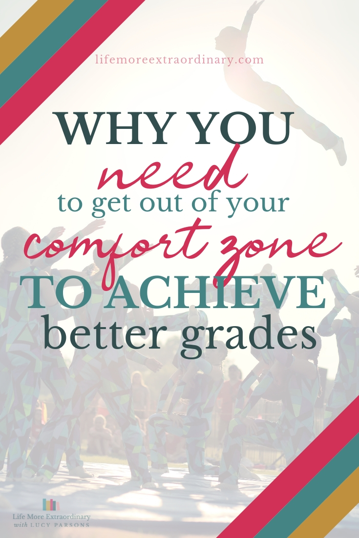 Why you need to get out of your comfort zone to achieve better grades #exams #studyskills #examtips
