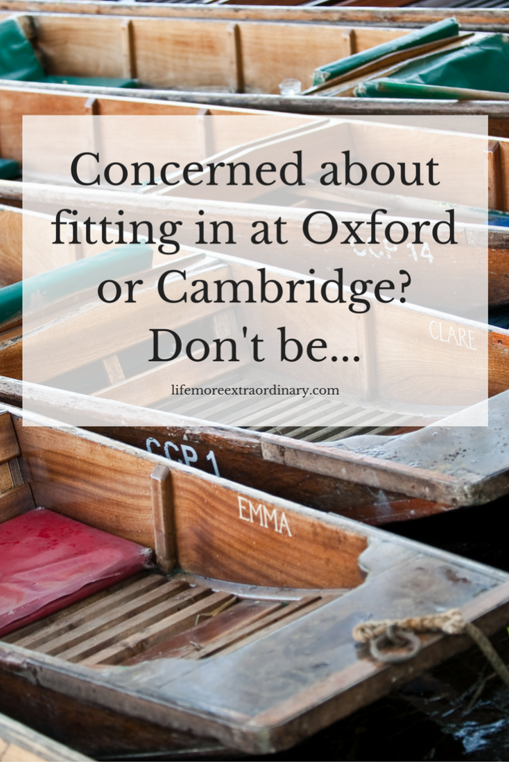 When thinking about applying to Oxford University or Cambridge University many people are really worried about whether they'll fit in. Click to find out why you shouldn't be.... #oxbridge #oxford #cambridge
