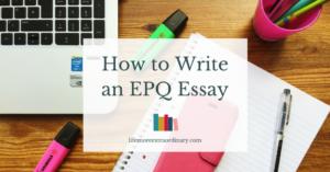 Epq essay