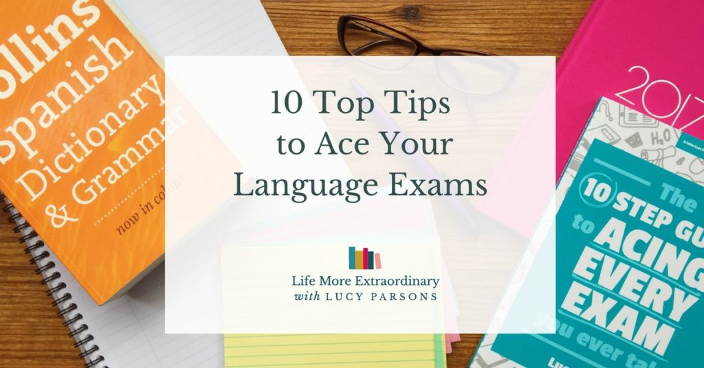 revise for language exams