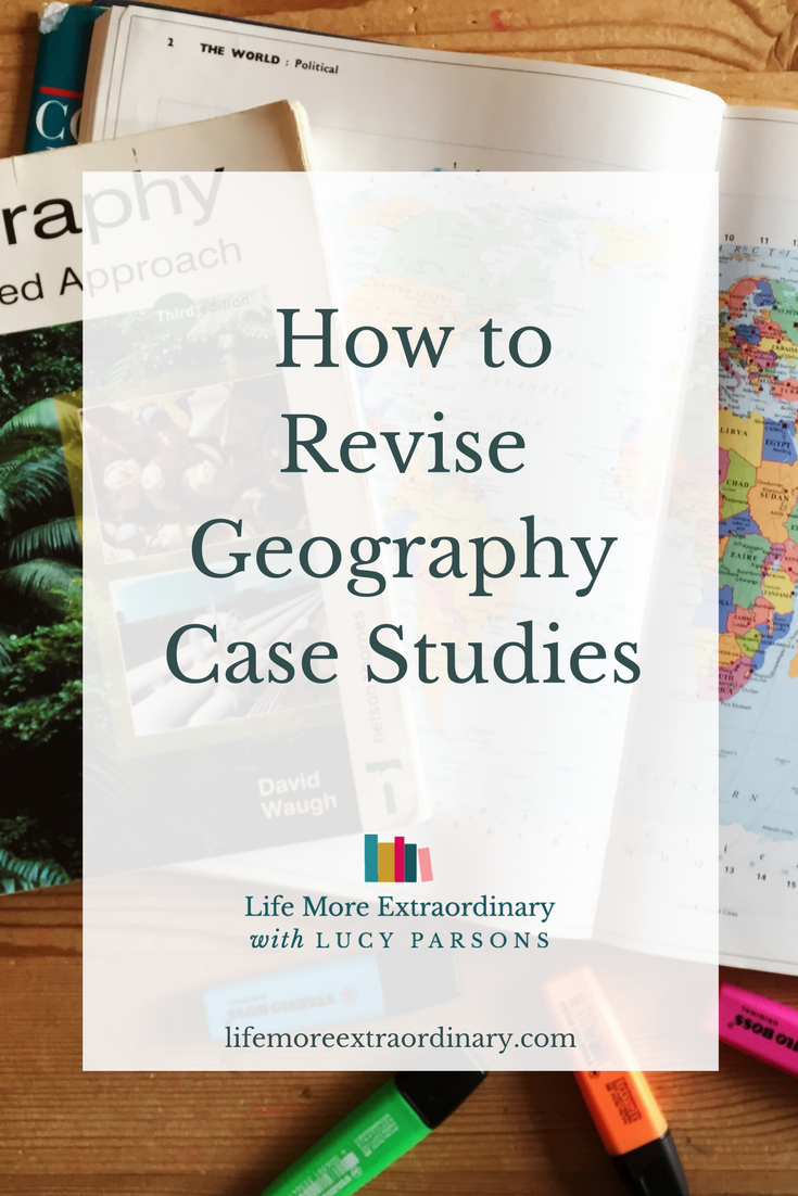 Geography is an amazing subject but it can be overwhelming. I thought I'd share some of my top tips on how to revise geography case studies.