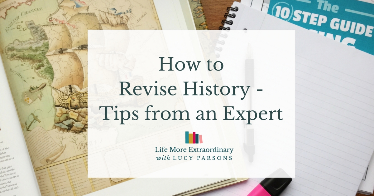How to revise history