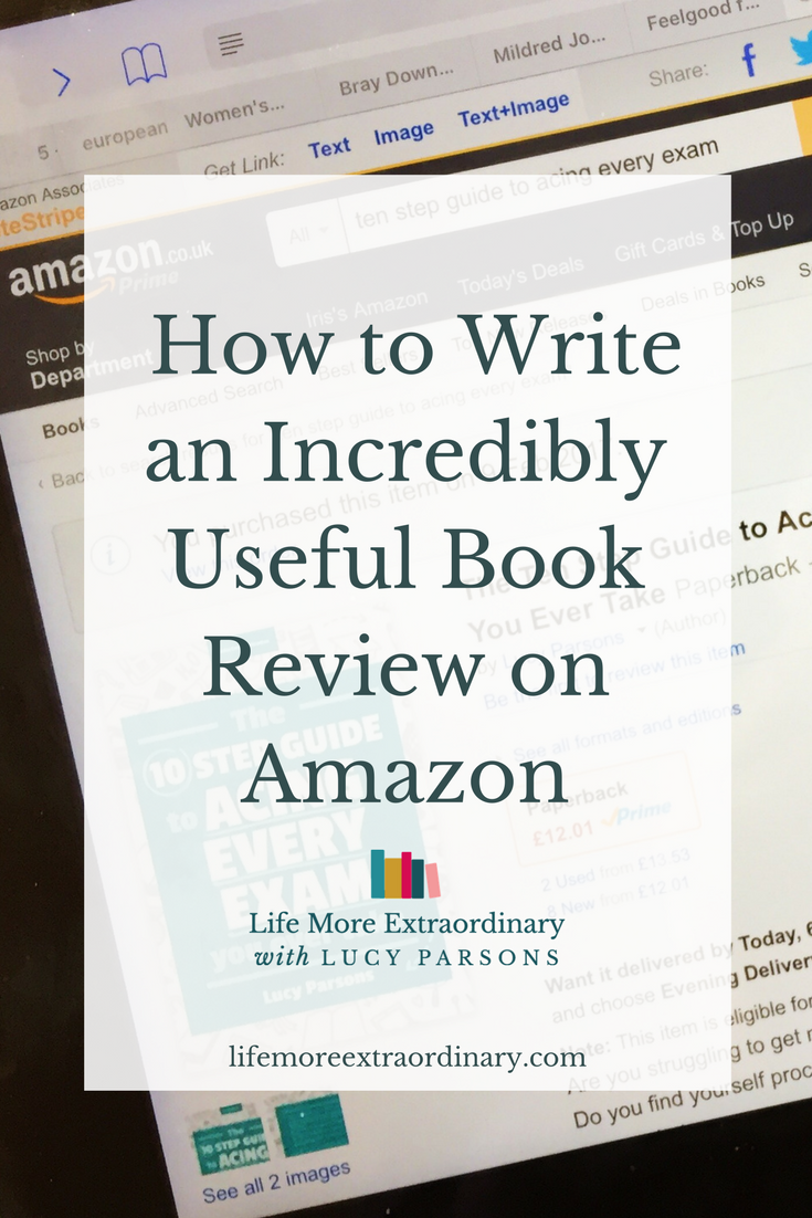 How to leave an incredibly useful book review on Amazon #amazon #bookreview