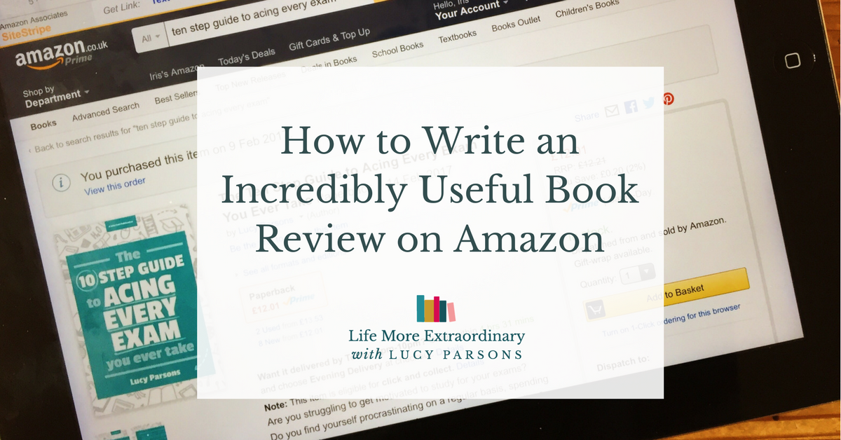 How to write an Amazon Review
