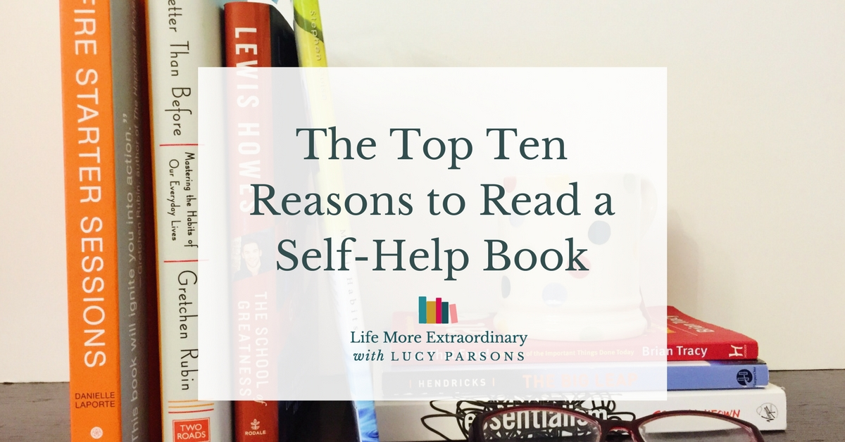 Top Ten Reasons to Read a Self-Help Book