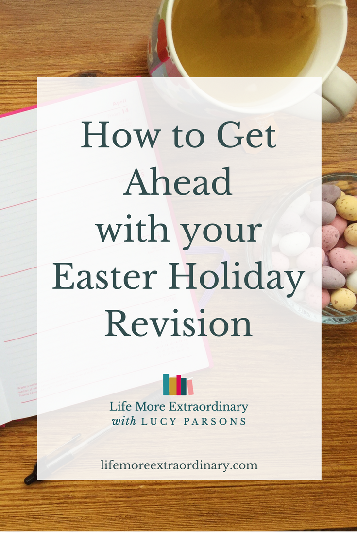 Plans for the Easter holidays? Have you factored in plenty of time for Easter holiday revision? If you haven't then now is the time to change your plans!