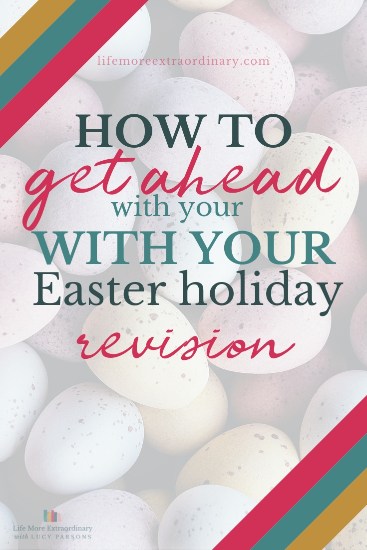 How to get ahead with your Easter holiday revision #exams #revision #studyskills #examtips