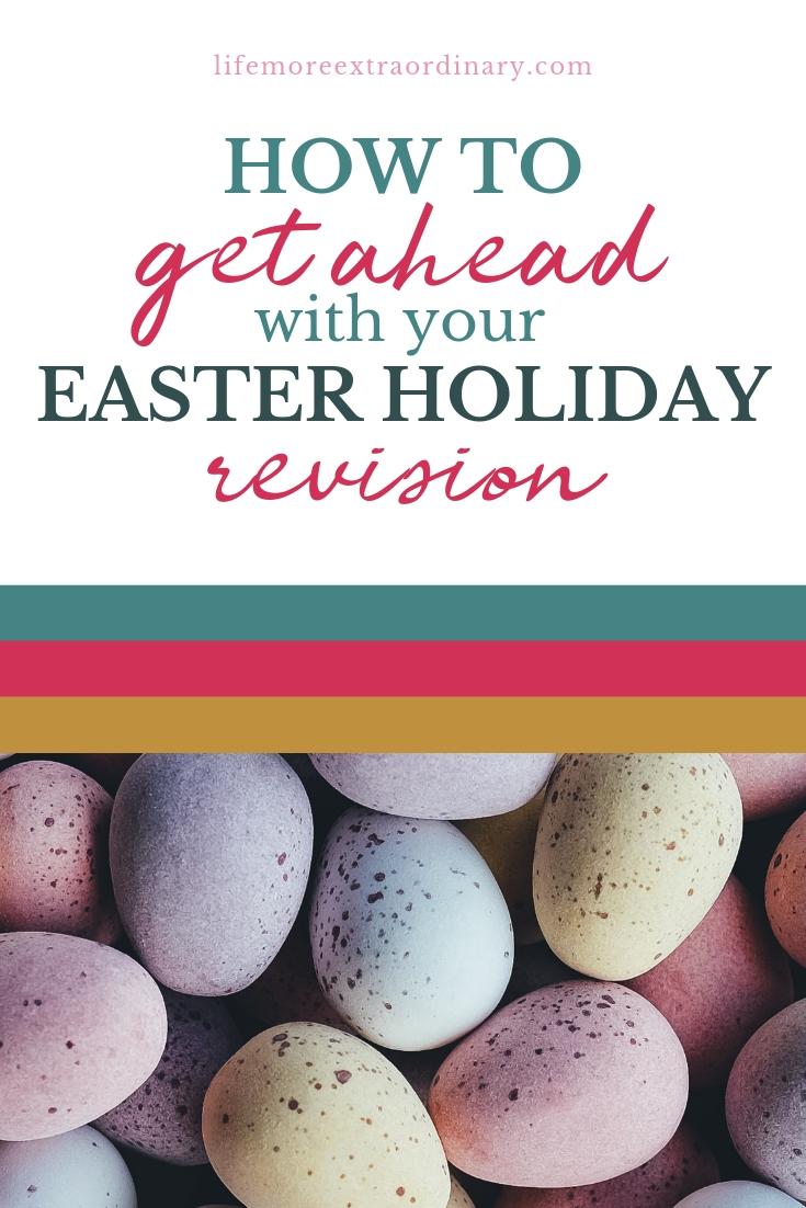 How to get ahead with your revision in the Easter holiadys #examtips #ALevels #GCSEs #studyskills