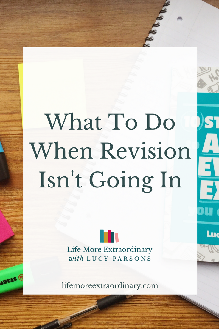 We've all been there. You're sitting at your desk and trying to revise for your exams. Find out what to do when revision isn't going in.