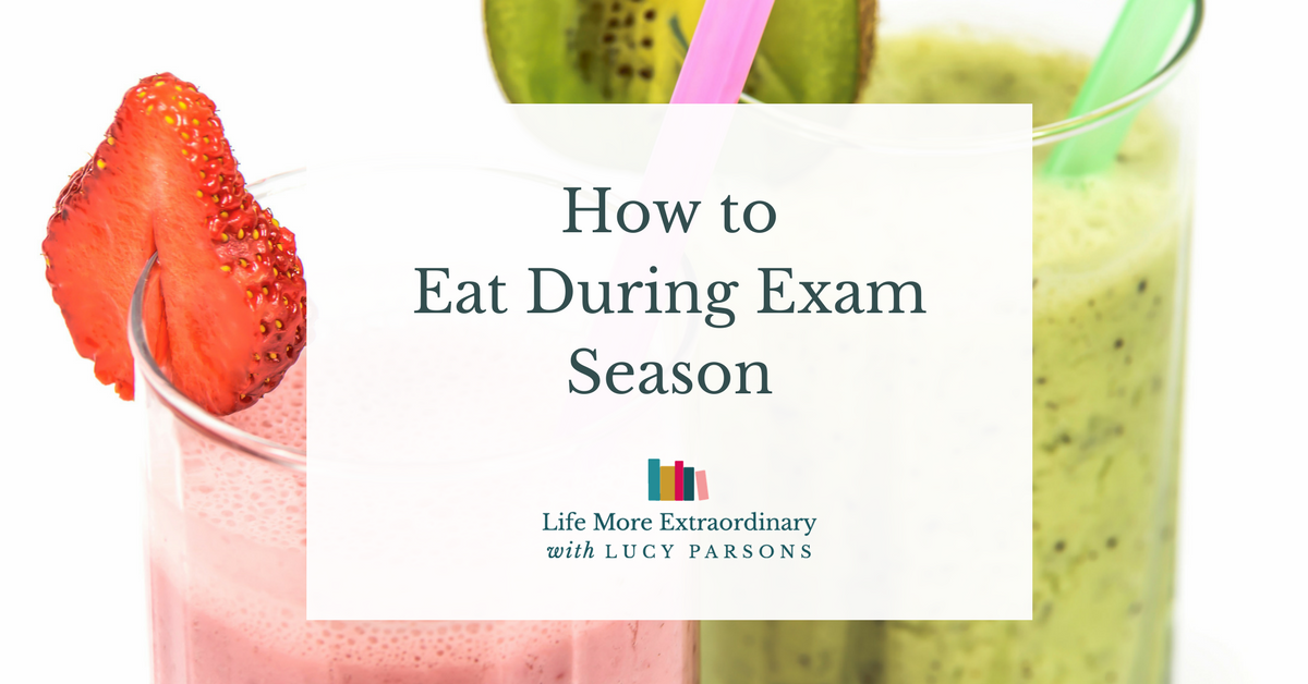 How to eat during exam season | If you're a student taking exams it's vital that you look after your health in exam season. Check out the tips in this article from wellbeing coach, Ali Hutchinson, about how to eat well, sleep well and exercise to support exam success. Click through to check out all the tips.
