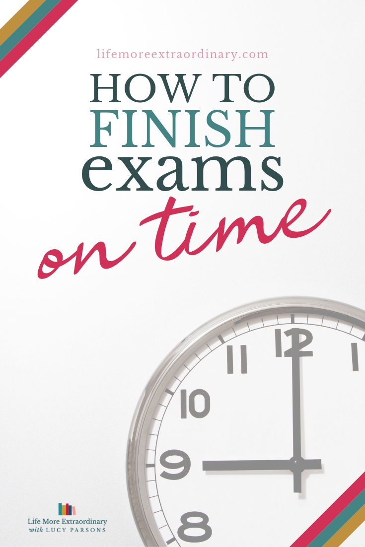 How to finish exams on time #examtips #GCSEs #ALeveltips