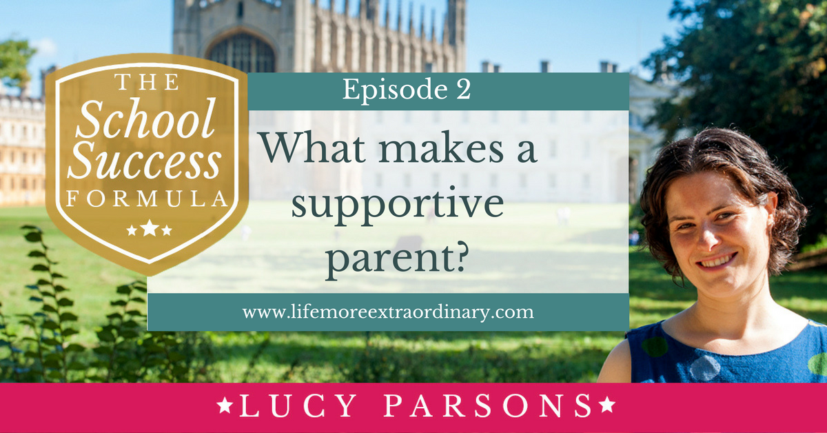 What makes a supportive parent?