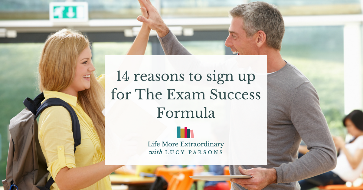 14 reasons to sign up for The Exam Success Formula