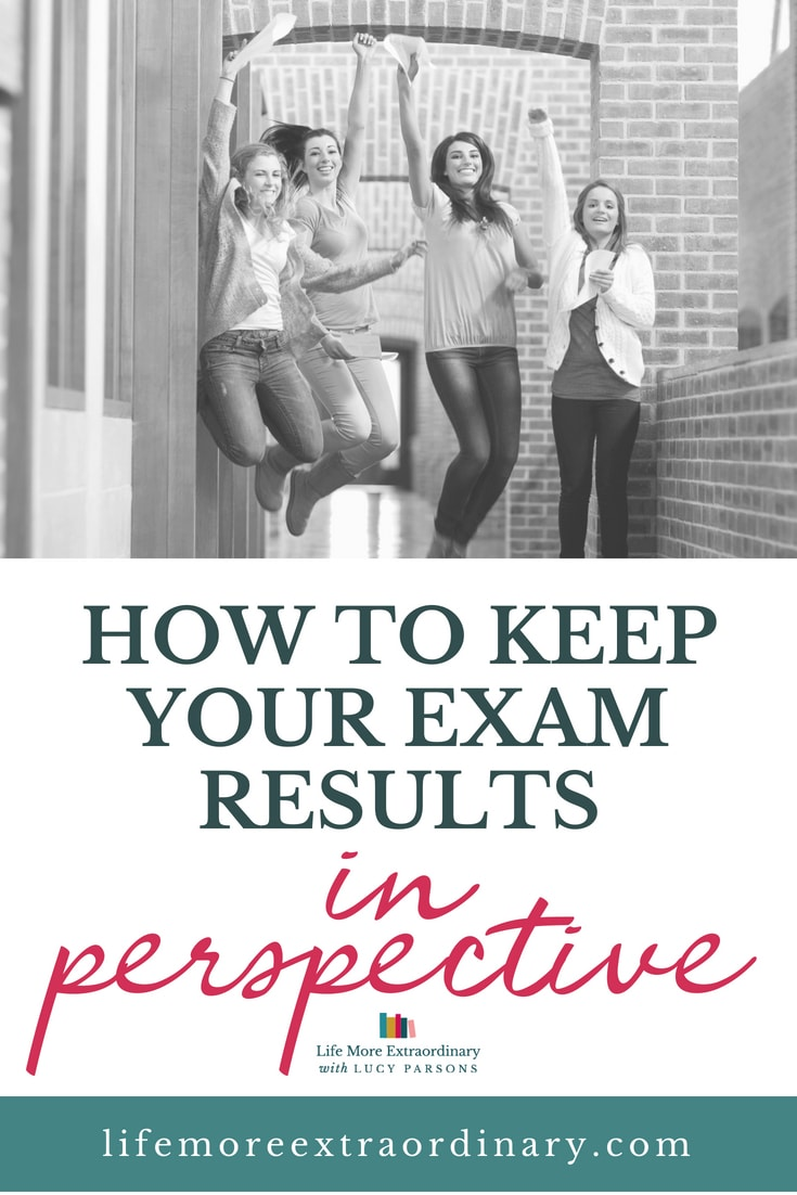 How to keep your GCSE and A Level results in perspective | If you're waiting for your exam results and getting stressed about it all, read this to put your mind at rest! #examresults #GCSEs #ALevel