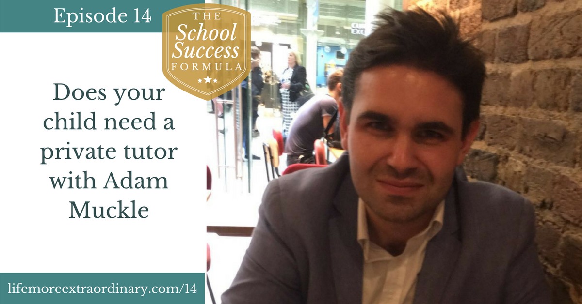 Does your child need a private tutor with Adam Muckle