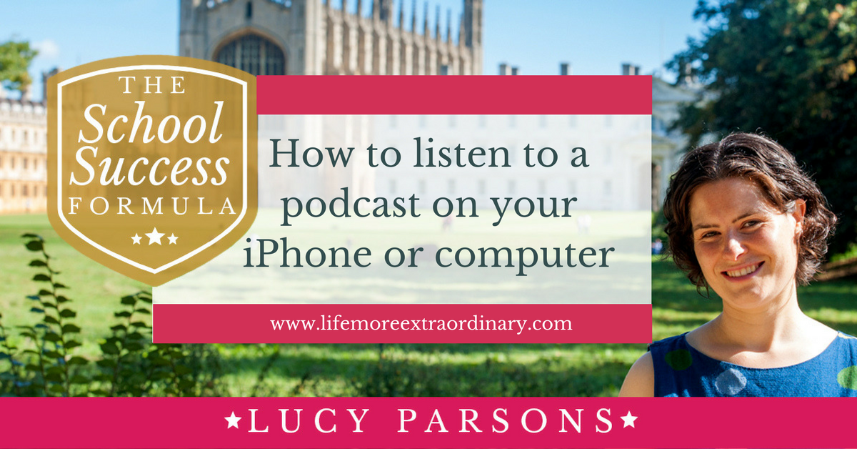 How to listen to a podcast on your iPhone or computer