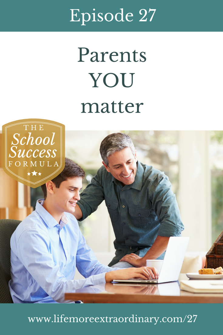 Parents YOU matter   I'm reflecting on what I've learned, through my business, over the last year and how I've been shown the depth of how much you, as parents, matter.