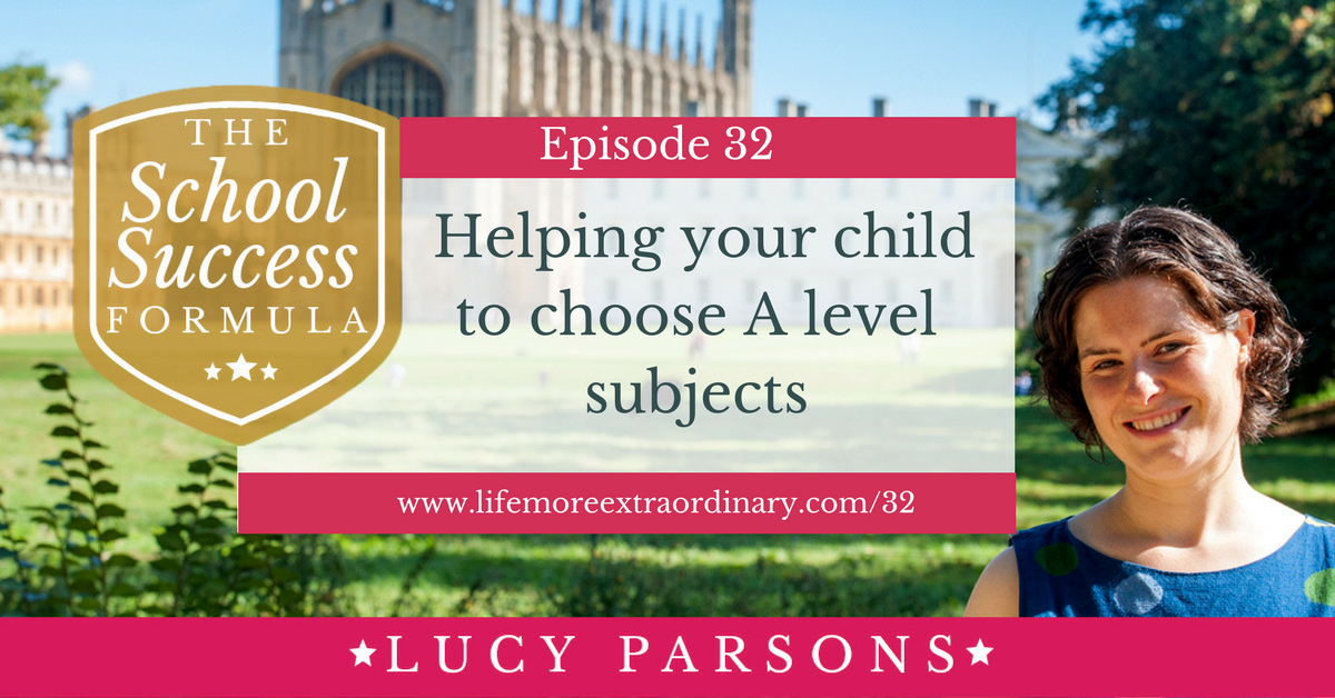 Helping your child to choose A level subjects