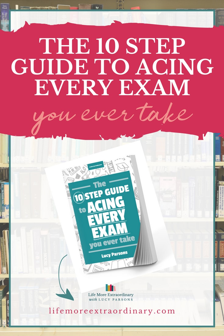 Celebrating one year of The Ten Step Guide to Acing Every Exam You Ever Take | Click to find out how this book has helped people with their exams, and changed their lives, over the last year. #studytips #revision #howtorevise