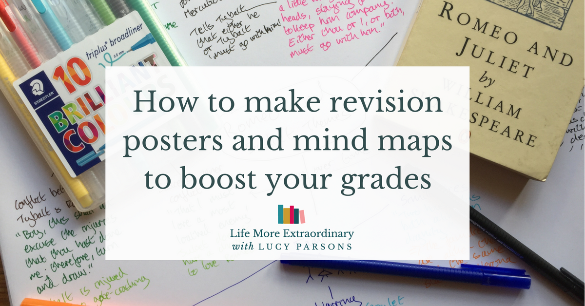 revision mind map ideas