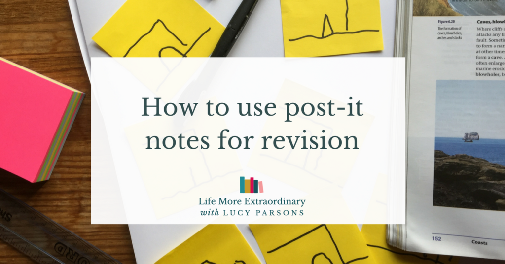 How to use post-it notes in your revision
