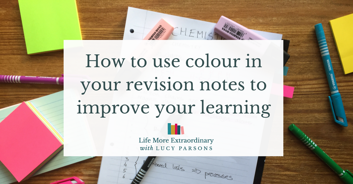How to make revision notes