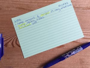 How to use flashcards in your revision