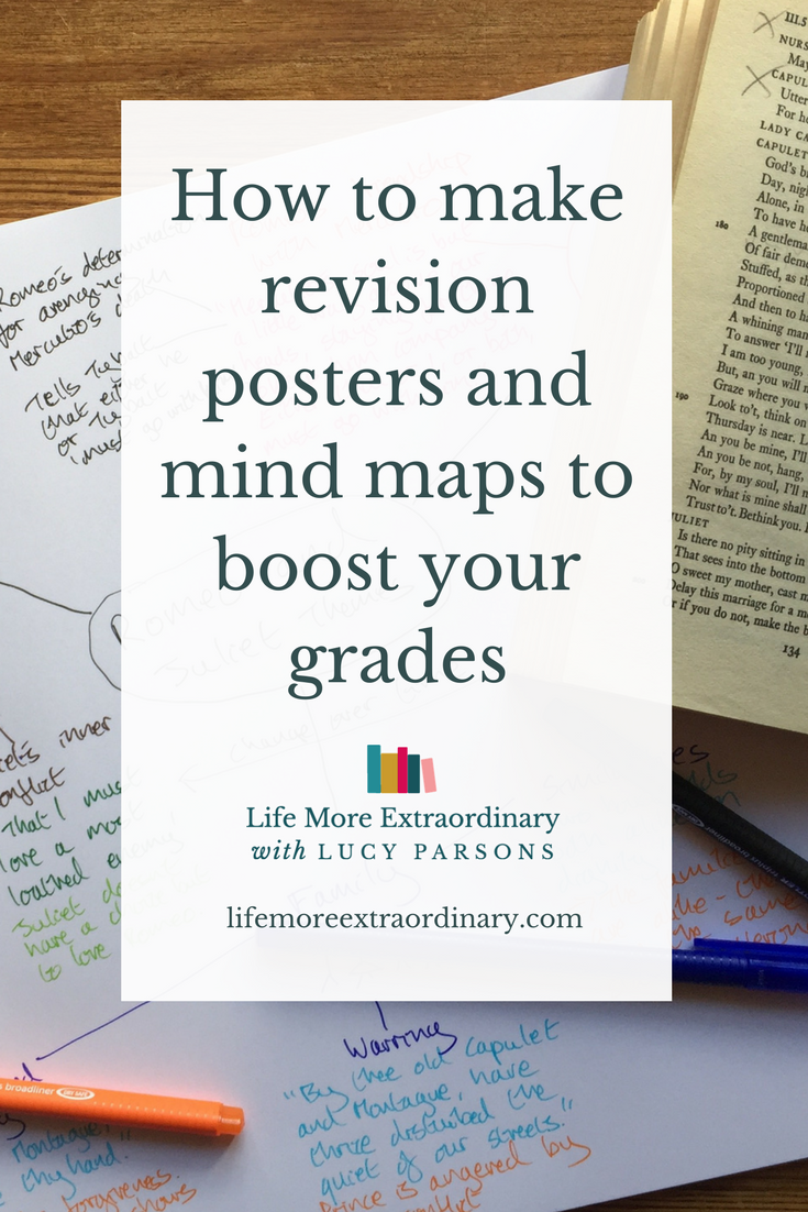 How to make revision posters and mind maps to boost your grades | Creating revision posters and mind maps are a excellent way to help boost your grades. In this video I'm going to show you how to make revision posters and mind maps to help you get the top grades. #studytips #revision #studyskills