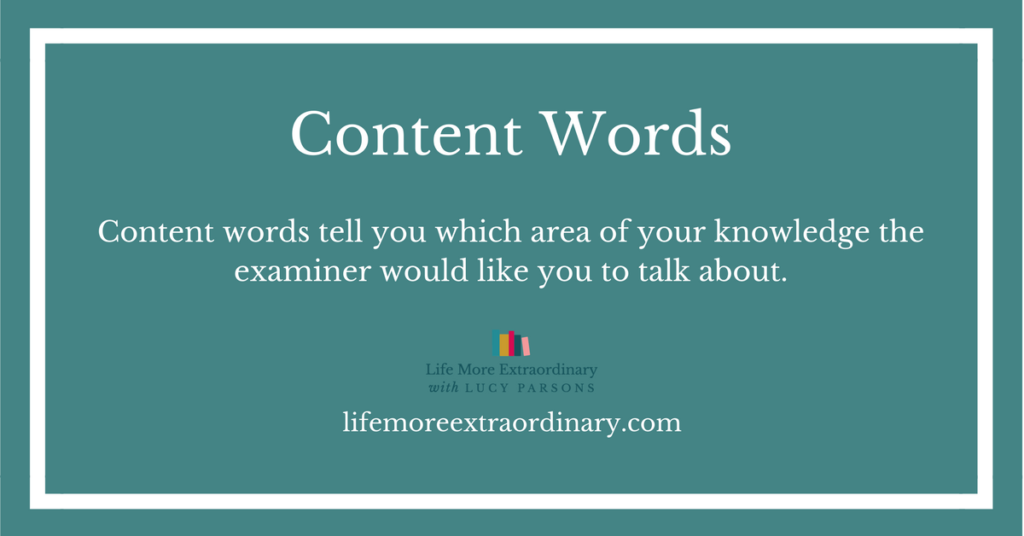 Content words