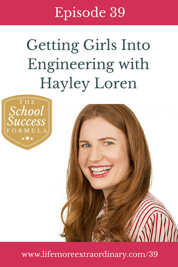 Getting Girls Into Engineering with Hayley Loren | On today's show we meet the very inspiring Hayley Loren, an engineer in the offshore wind industry. She shares with us the fun in science and engineering, and the importance for parents to facilitate their child's passions for science at an early age. via @Lucy Parsons #engineering #science