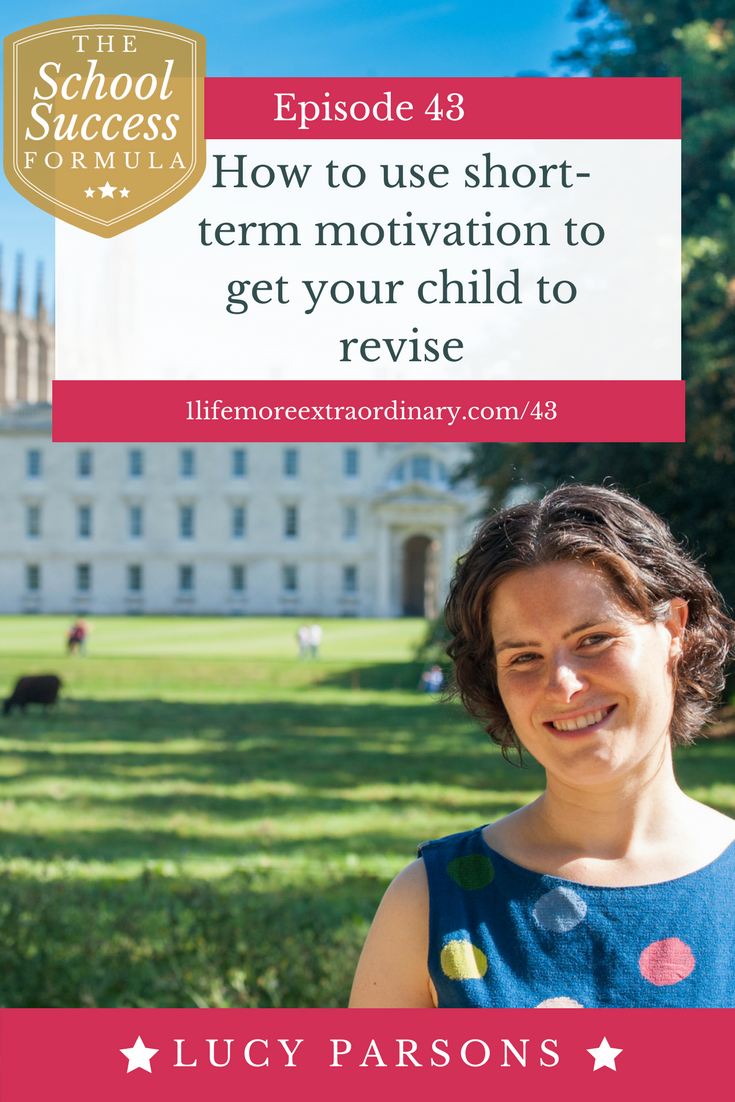 How to use short-term motivation to get your child to revise | Are you pulling your hair out because you can't get your child to revise? Get some tips on how to get them motivated here.#parenting #revision