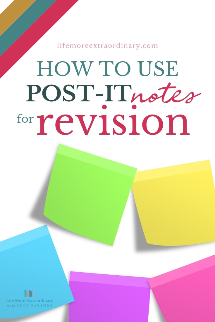 Post-it notes are a simple, yet incredibly effective revision tool - here's how to use them! #revisiontips #studyskills #ALevels #GCSEs