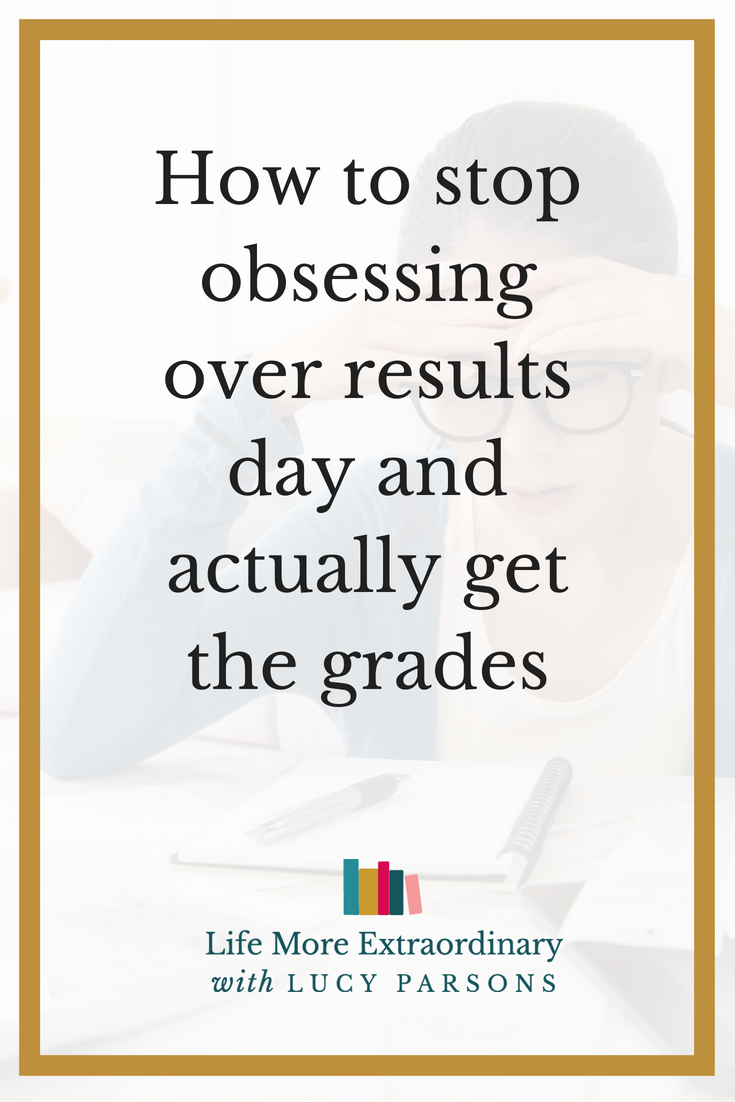 How to stop obsessing over results day and actually get the grades | Are you worrying so much about results day that you're paralysed into in-action and not doing any revision? In this blog post, I'm going to show you how to get out of flight mode and into fight mode so that you actually get those grades. #revision #studytips