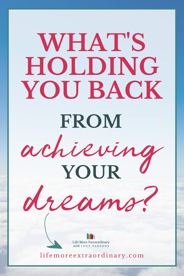Don't let your doubts hold you back from achieving your dreams - take positive action!