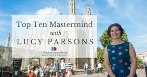 Top Ten Mastermind with Lucy Parsons - how to get into oxbridge