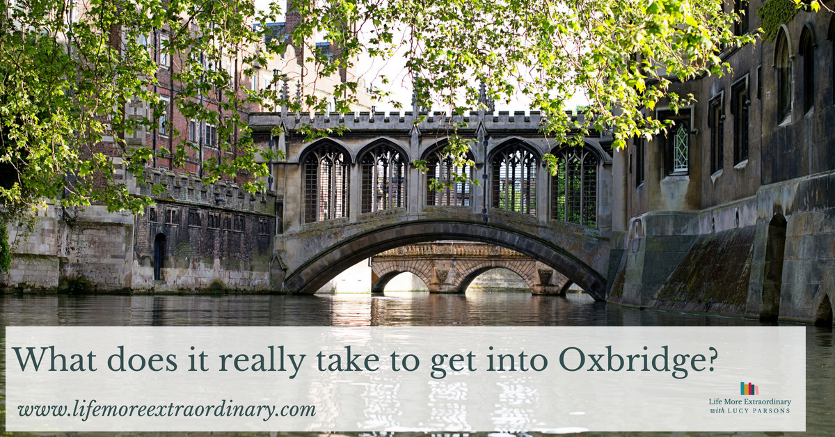 What does it really take to get into Oxbridge_