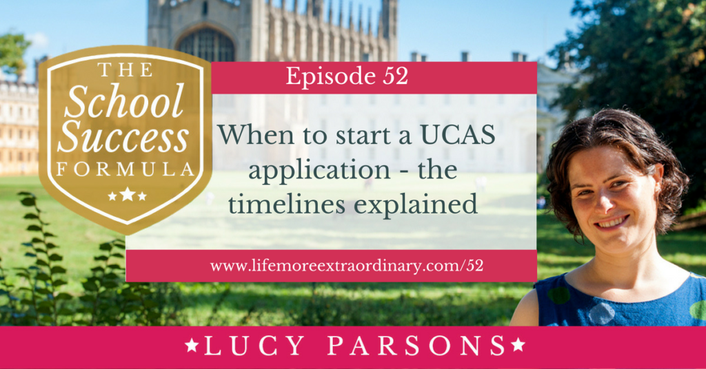 When to start a UCAS application